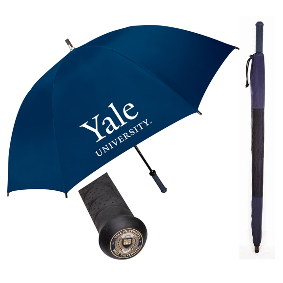 7200 - Medallion Rubber Handle Golf Umbrella