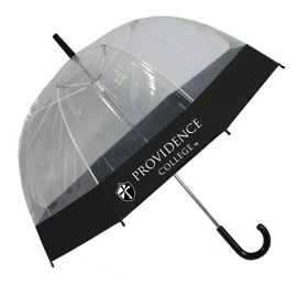 Clear View Dome Umbrella W/Printable Edge