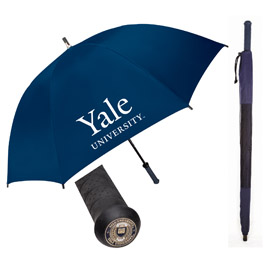 Medallion Rubber Handle Golf Umbrella
