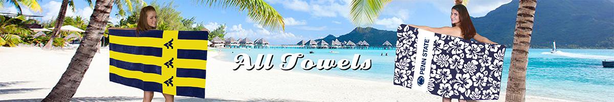 ALL BEACH AND BATH TOWELS
